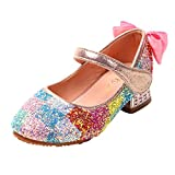 Sequin Sparkly Princess Shoes for 5-12 Years Old Girls,Jchen Kids...