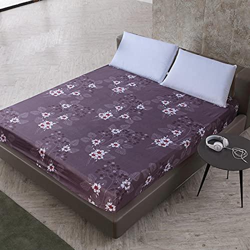 DSman Protector de colchón Acolchado - Microfibra - Transpirable Sábana Impresa cepillada Paquete Completo-6_80X200 + 25cm