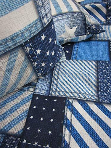 pago poco Bettwäsche-Set aus Flanell America Bettlaken 240 x 280 cm. Spannbettlaken 180 x 200 + 25 cm. 2 Kissenbezüge 52 x 82 cm.