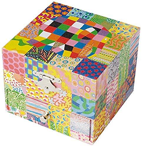 Trousselier Barrio Sésamo - Caja de música para bebés Elmer (S20064)