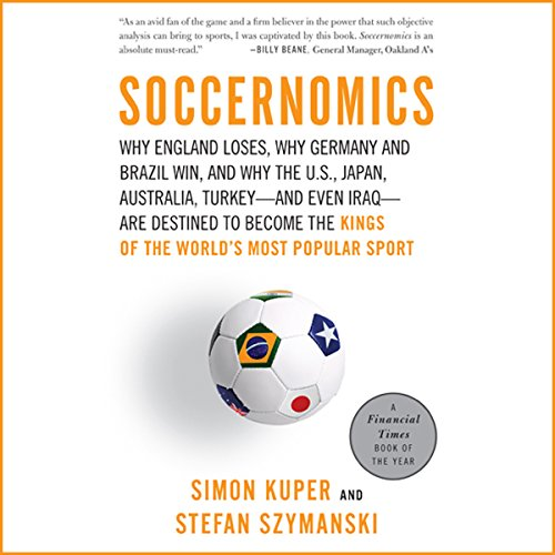 Soccernomics cover art