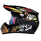 R&P Casco de motocross, para adultos, para exteriores, casco de bicicleta de montaña, de...