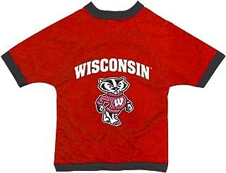 NCAA Wisconsin Badgers Collegiate Athletic Mesh Dog Jersey