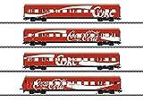 Marklin-Personenwagen-Set S-Bahn Der Coca-Cola Juego de 4 carritos para Personas 43890