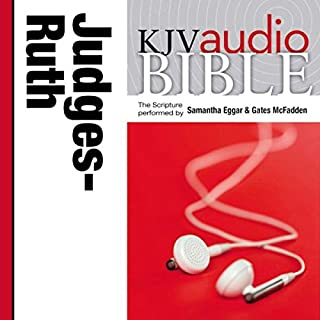 Pure Voice Audio Bible - King James Version, KJV: (07) Judges and Ruth audiobook cover art