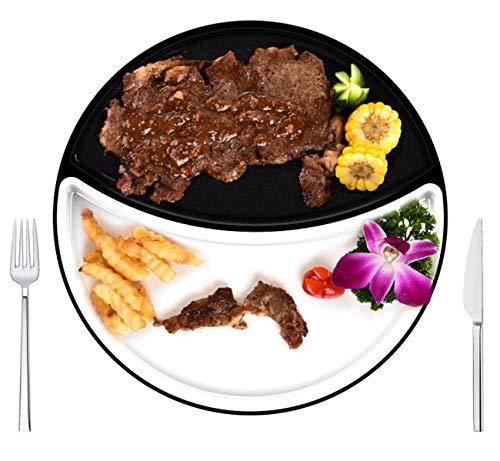 WJJJ Barbecue électrique Multifonctions Barbecue sans fumée Anti-adhérent Dortoir Pot rôti Plat à Steak Commercial Machine pour Barbecue Intérieur Manger à la Maison Tout en rôti
