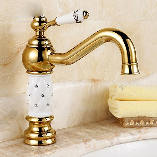 Learn More About Modern Simple Brass Constructed Polished Hot And Cold Basin Sink Faucet Bathroom Si...