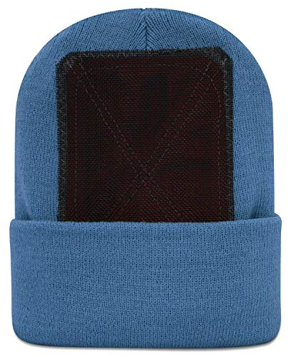 BACKSPIN Function Wear - Headspin Beanie Cap Farbe Carolina Blau, Größe One Size