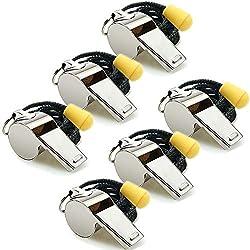 Image of Hipat Whistle, 6 Pack...: Bestviewsreviews