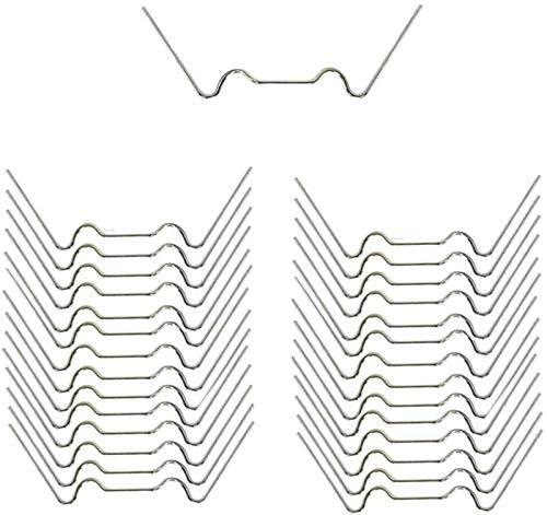 longyisound 25 pezzi serre vetrate W clip metalliche, staffe per serra, staffe in acciaio inox per pannelli a doppia parete