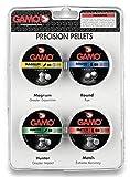 Gamo Pack 4 latas Balines Kit Perdigones de Precisión Calibre 4,5 mm