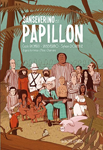 Sansévérino est Papillon: Livre-CD