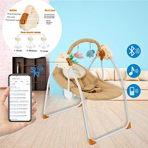 51IGqUBso7L 10 Best Portable Baby Swings on the Market 2021 Review