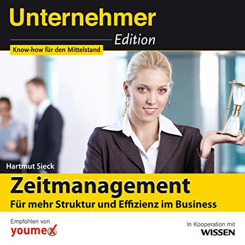 Zeitmanagement audiobook cover art