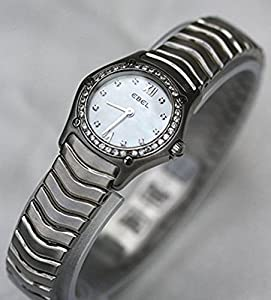 Ebel Classic Mini Wave Mother of Pearl Dial Diamond Markers and Diamond Bezel Women's Watch Find Prices and For Your and review
