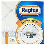 Regina - Cinquestelle, Tovagliolo Due Veli - 6 confezioni da 46 pezzi [276 pezzi]