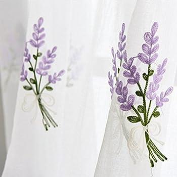 Best lavender sheer curtains Reviews
