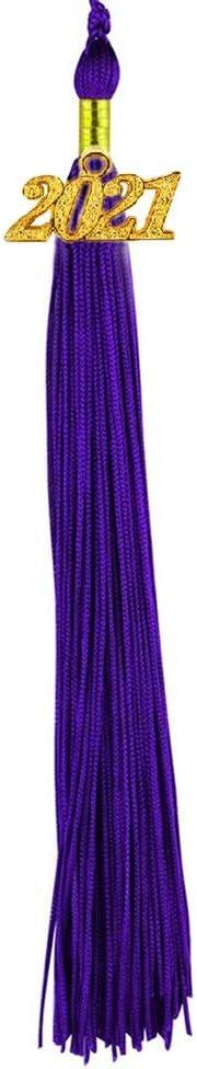 HEPNA 2021 Regular discount Purple Graduation Tassels for SALENEW very popular Cap Tassel Honor Gr