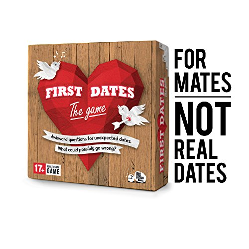 Big Potato The Official First Dates Game: A Super-Awkward Party Game for Adults