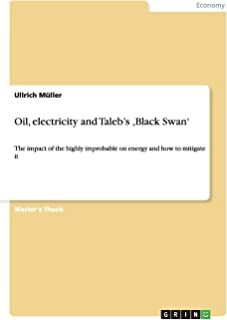 Oil, electricity and Taleb's 'Black Swan': The impact of the highly improbable on energy and how to mitigate it