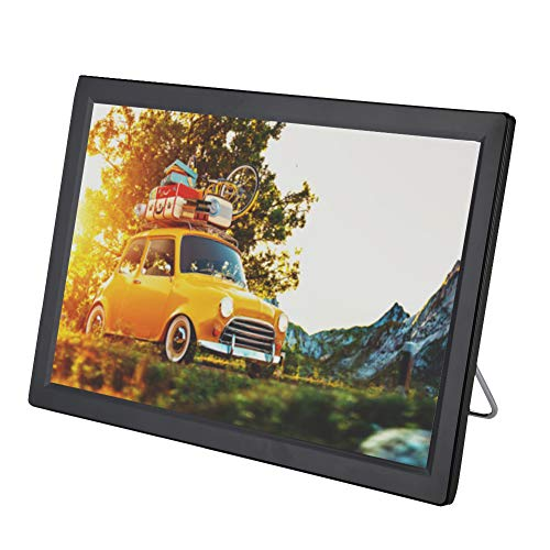 Ccylez TV Digital para automóvil 1080P, TV Digital portátil ATV UHF VHF, Monitor LED portátil de 14 Pulgadas con Altavoces estéreo, televisión para automóvil para Dormitorio, Cocina, Caravana