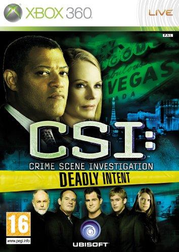 Ubisoft CSI: Crime Scene Investigation - Deadly Intent (Xbox 360)
