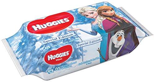 Huggies Babydoekjes Disney Frozen 2, 56 vochtige doekjes