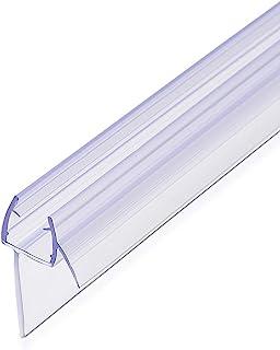 Navaris overspanningsbeveiliging douchecabine 45° offset - voor 8mm glazen douchedeur - afdichting glazen deur douche - ve...