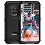 Ulefone Armor 9 Rugged Phones Unlocked (2021), Android 10 Helio P90 Octa-core 8GB+128GB ROM, 64MP Triple Rear Camera + Thermal Imaging Camera, 6.3 inch FHD+ 6600mAh Battery Dual 4G Rugged Smartphones