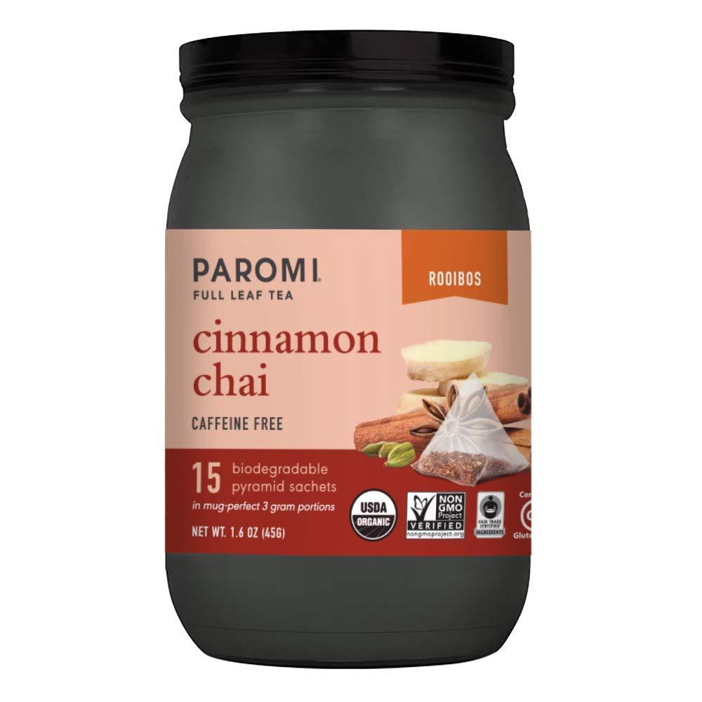Paromi Cinnamon Chai Rooibos Organic Cou Signature Tea Jar 15 Kansas Ranking TOP19 City Mall