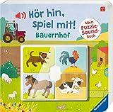Hör hin, spiel mit! Mein Puzzle-Soundbuch. Bauernhof