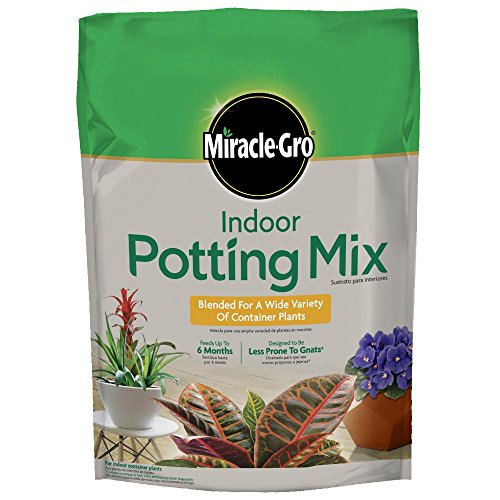 Miracle-Gro Indoor Potting Mix 6 qt., Grows beautiful...