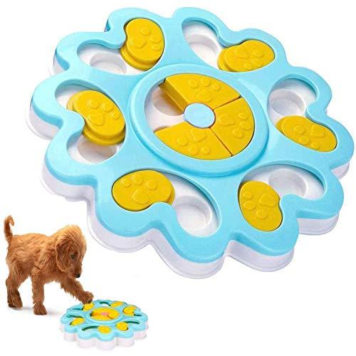 Mangiatoia per cani, mangiatoia per cuccioli, mangiatoia per cani, con antiscivolo, migliora il puzzle IQ per cuccioli e animali domestici