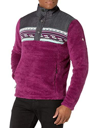 Spyder Herren Wyre Fleece Jacke - Half Snap Sweater