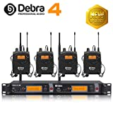 The best sound quality!!! Professional UHF In Ear Monitor System! Dual Channel Monitoring ER-2040 Type For...