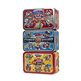 SuperZings Rivals of Kaboom - Pack de 3 Latas (PSZSV123IN00) con 5 Figuras Cada...