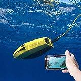 DJG Visuelle Unterwasserdrohne Mini RC Modell U-Boote HD Photo Kamera-Fernsteuerung Schiff Roboter Zu Erkennen Fisch High-Tech-Spielzeug-Gelb