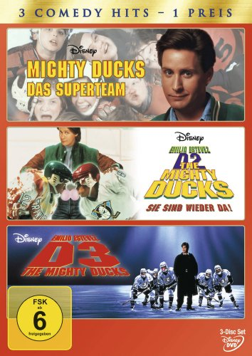 Mighty Ducks 1-3 [3 DVDs]