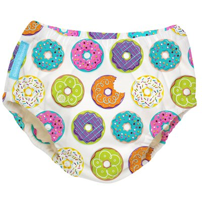 Charlie Banana Swim Nappy & Training Pant 2in1 (Delicious Donuts, XLarge - 24m+)
