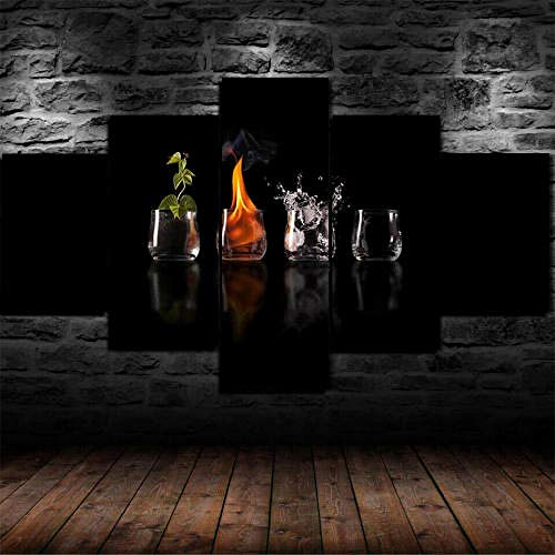 ADGDS Cuadros Modernos Impresión de Imagen Artística Digitalizada   Lienzo Decorativo para...