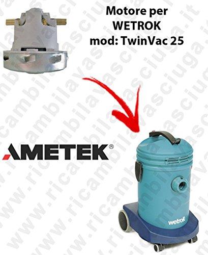 Ametek zuigmotor voor stofzuiger WETROK TwinVac 25