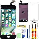 GULEEK Pantalla para iPhone 6 4,7' Pantalla táctil LCD Pantalla de Cristal Reemplazo del Marco del digitalizador con Herramientas de reparación (Negro)