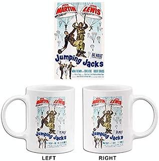 Jumping Jacks - Martin & Lewis - 1952 - Movie Poster Mug