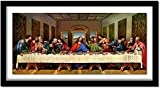 Stamped Cross Stitch Kits for Adults Beginner-Last Supper Jesus,DIY Designs Cross-Stitch Easy Supplies Needlework,Needlepoint Embroidery Gift for Home Decor -1620 inch