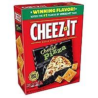Cheez-It Cheese Pizza チーズイカチーズピザ味スナッククラッカー350g [並行輸入品]