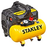Stanley DST 100/8/6 SI 6L Silent Air Compressor, 230 V