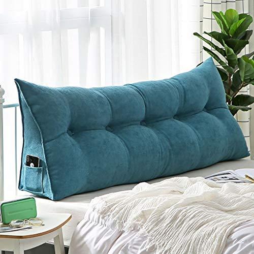Goldenla Eenvoudig sofakussen, Soft Bed Head, driehoekige rugleuning voor banken, bedden, vensterbanken, diverse maten verkrijgbaar