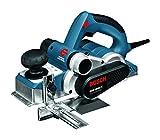 Bosch Professional GHO 40-82 C Hobel, 850-W-Motor, Spandicke einstellbar 0-4mm mit L-BOXX, 1 Stück, 060159A76A