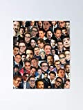 MCTEL Robert Downey Jr Collage Poster 12x16 Inch No Frame