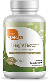 Zahler HeightFactor, Healthy Height Supplement, Contains Zinc 50mg, Pantothenic Acid, Vitamin C and More, Natural Growth S...